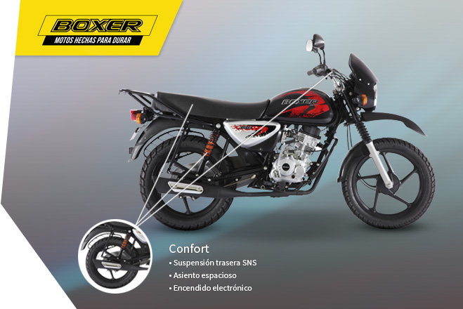 boxer 150 x disk comfort