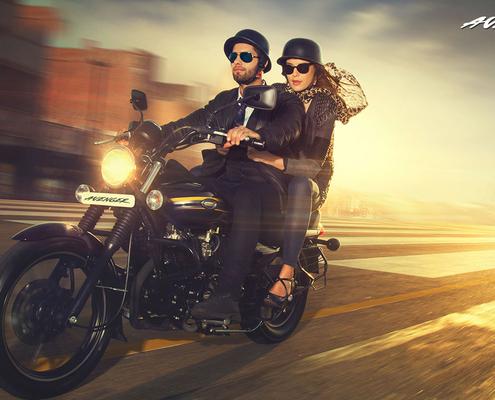 Мотоцикл Bajaj Avenger Street 220 3