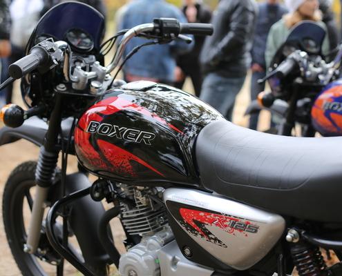 Мотоцикл BAJAJ Boxer 150x disk black
