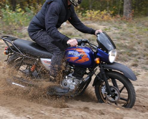 Мотоцикл BAJAJ Boxer 150 x blue