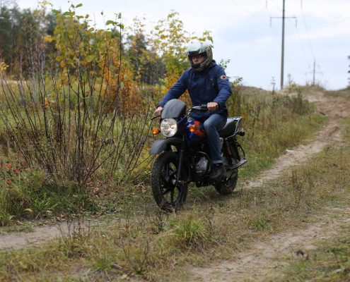 Мотоцикл BAJAJ Boxer 150X DISK 1