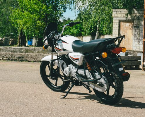 motorcycle bajaj 150 ug white (1)