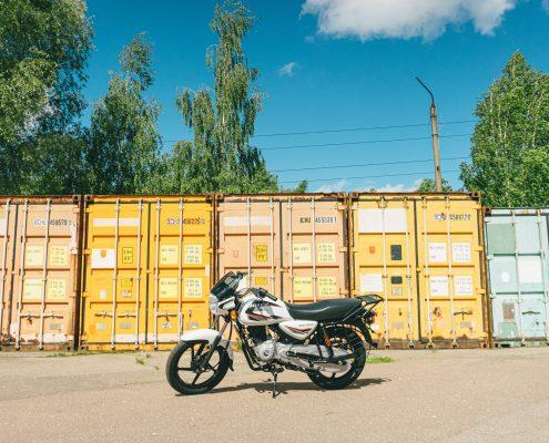 motorcycle bajaj 150 ug white (2)