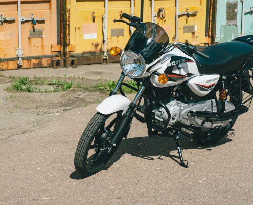motorcycle bajaj 150 ug white (5)